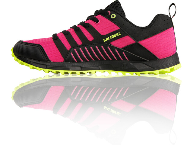 Salming Trail T4 Shoes Women Black/Fluo Pink